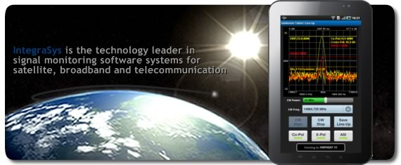 Integrasys is the technology leader in signal monitoring software systems for satellite, broadband and telecommunication.